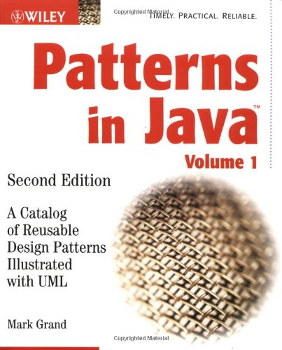 Patterns in Java A Catalog of Reusable Design Patterns Illustrated with UML 2nd 2002 (Revised) edition cover