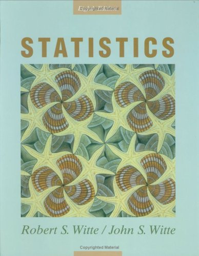 Statistics  8th 2007 (Revised) edition cover