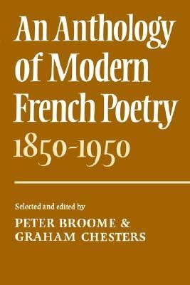 Anthology of Modern French Poetry, 1850-1950   1976 9780521209298 Front Cover