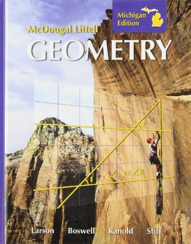 Holt Mcdougal Larson Geometry Student Edition Geometry 2008  2007 9780618923298 Front Cover