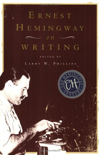 Ernest Hemingway on Writing   1999 edition cover