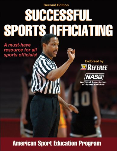 Successful Sports Officiating  2nd 2011 edition cover
