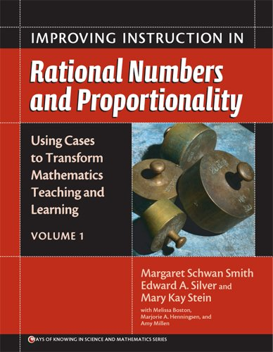 Improving Instruction in Rational Numbers and Proportionality   2005 edition cover