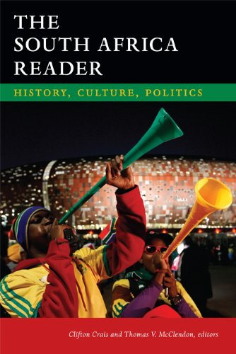 South Africa Reader History, Culture, Politics  2013 edition cover