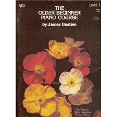 Older Beginner Piano Course Level 1 1st 1978 edition cover