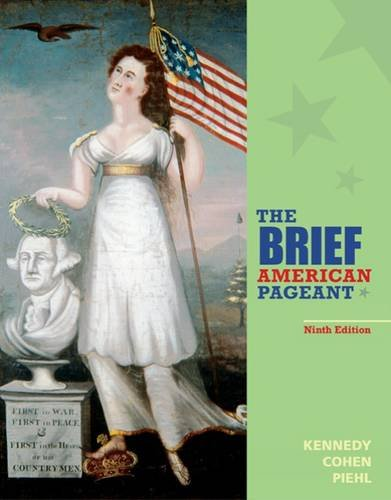 Brief American Pageant : a History of the Republic  9th 2017 (Revised) 9781285193298 Front Cover