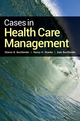 Cases in Health Care Management   2014 edition cover