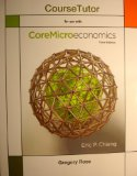 CORE MACROECONOMICS:COURSE TUTOR-ACCESS N/A edition cover