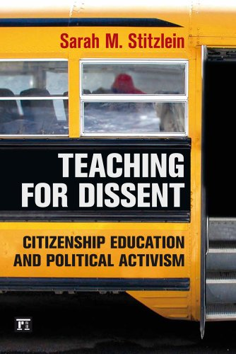 Teaching for Dissent Citizenship Education and Political Activism  2013 edition cover