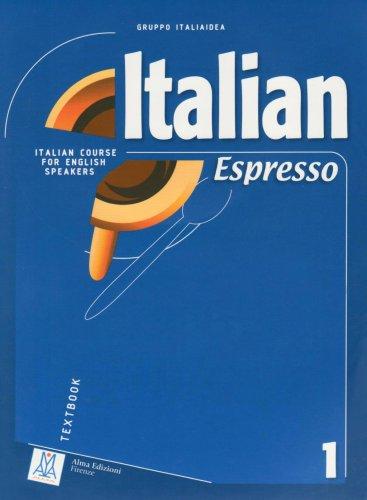 Italian Espresso 1 Italian Course for English Speakers  2006 edition cover