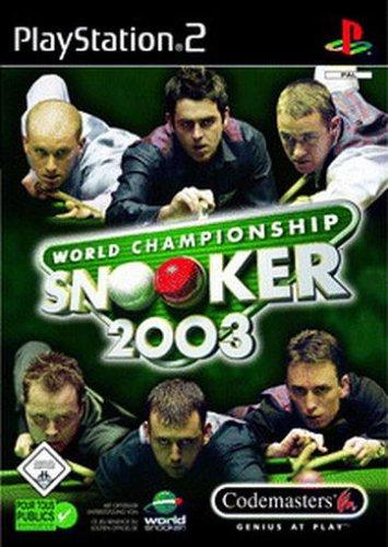 World Championship Snooker 2003 PlayStation2 artwork