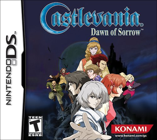 Castlevania: Dawn of Sorrow Nintendo DS artwork
