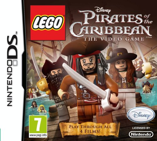 Lego Pirates of the Caribbean: The Video Game (Nintendo DS) Nintendo DS artwork