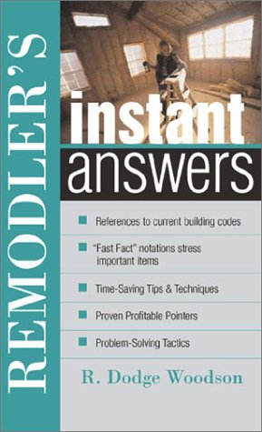 Remodeler's Instant Answers   2003 9780071398299 Front Cover