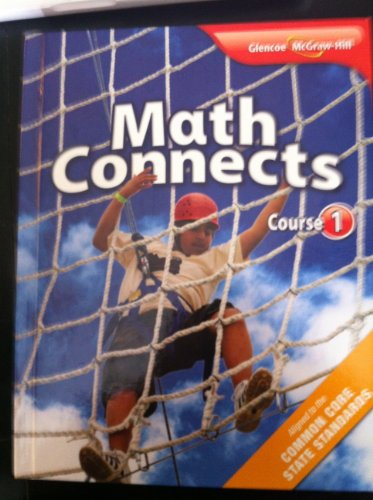Math Connects, Course 1 Student Edition   2012 9780078951299 Front Cover