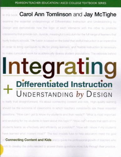Integrating Differentiated Instruction and Understanding by Design Connecting Content and Kids  2014 edition cover