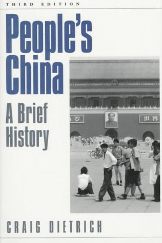 People's China A Brief History 3rd 1998 (Revised) edition cover