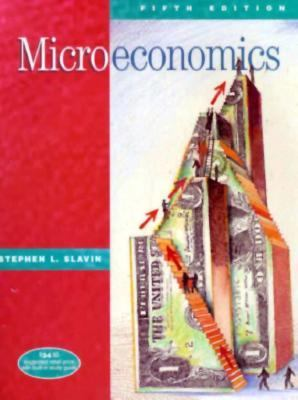 Microeconomics 5th 1999 9780256263299 Front Cover