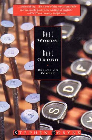 Best Worlds, Best Order Essays on Poetry Revised edition cover