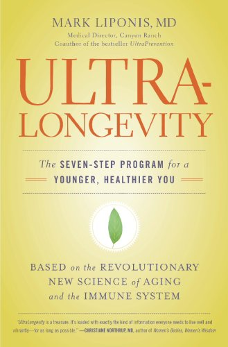 UltraLongevity The Seven-Step Program for a Younger, Healthier You  2008 edition cover