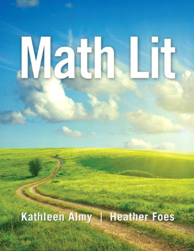 Math Lit Plus MyMathLab -- Access Card Package   2014 edition cover