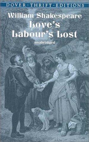 Love's Labour's Lost   2001 edition cover