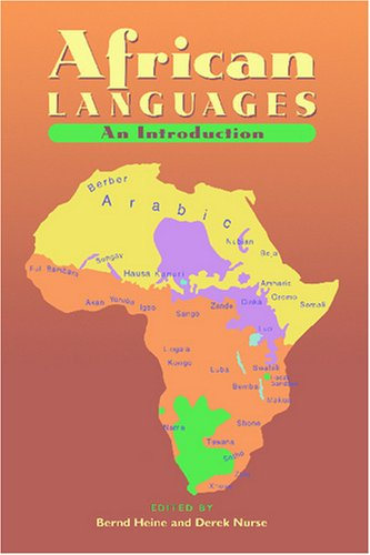 African Languages An Introduction  2000 9780521666299 Front Cover