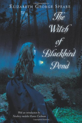 Witch of Blackbird Pond   1958 edition cover