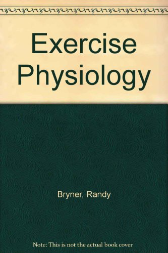 Exercise Physiology Workbook and Study Guide  Revised  9780757568299 Front Cover