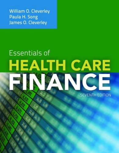 Essentials of Health Care Finance  7th 2012 (Revised) edition cover