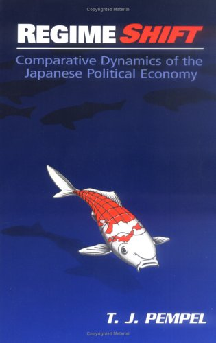 Regime Shift Comparative Dynamics of the Japanese Political Economy  1998 9780801485299 Front Cover