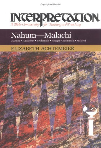 Nahum-Malachi A Bible Commentary for Teaching and Preaching N/A edition cover