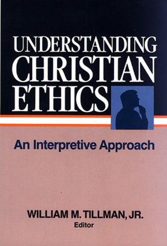 Understanding Christian Ethics  N/A edition cover