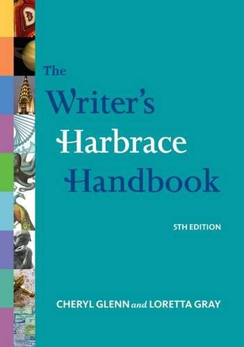 Writer's Harbrace Handbook, Brief  5th 2013 edition cover