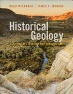Historical Geology  7th 2013 edition cover