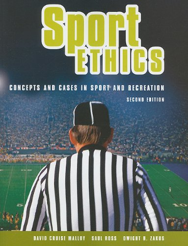 Sport Ethics Concepts and Cases in Sport and Recreation 2nd 2003 9781550771299 Front Cover