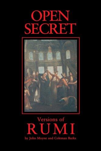Open Secret Versions of Rumi  1999 edition cover