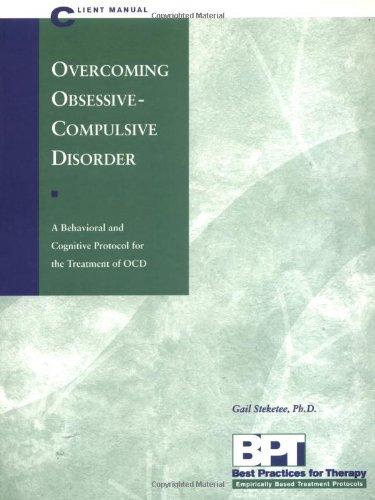 Overcoming Obsessive-Compulsive Disorder   1998 edition cover