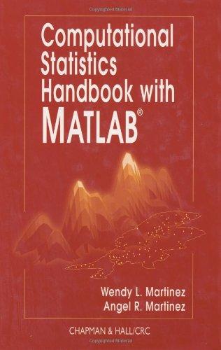 Computational Statistics Handbook with MATLAB   2002 9781584882299 Front Cover