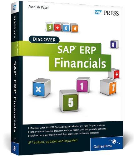 Discover SAP ERP Financials (SAP PRESS: englisch) N/A edition cover