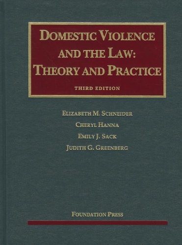 Domestic Violence and the Law:   2012 edition cover