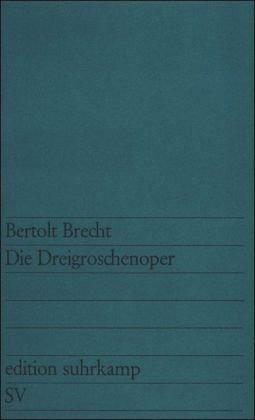 Threepenny Opera   1968 edition cover
