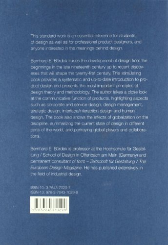 Design History, Theory and Practice of Product Design  2005 edition cover