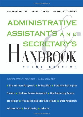 Administrative Assistant's and Secretary's Handbook (Administrative Assistant's & Secretary's Handbook) N/A edition cover