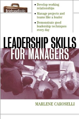 Leadership Skills for Managers   2001 edition cover