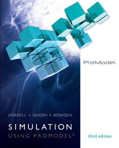 Simulation Using ProModel  3rd 2012 edition cover