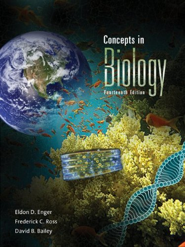 Concepts in Biology  14th 2012 edition cover