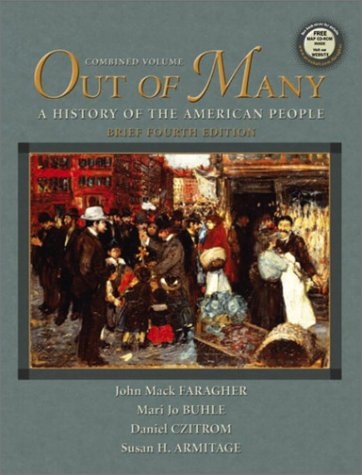 Out of Many  4th 2004 (Revised) edition cover
