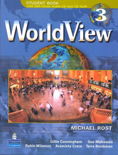 WorldView 3 with Self-Study Audio CD and CD-ROM   2007 edition cover