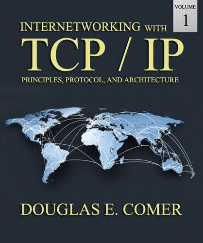Internetworking With Tcp/Ip Volume One:   2013 edition cover